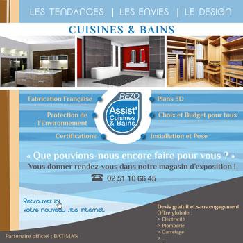 Cuisine Salle de bain </br> ASSIST CUISINE